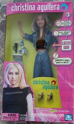 Christina Aguilera Singing Doll From Yaboom Still Sings Genie In A Bottle, New!