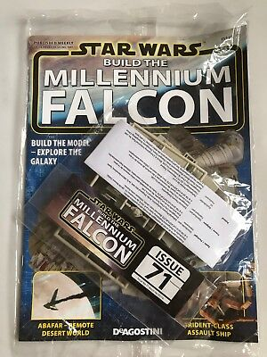 DEAGOSTINI STAR WARS BUILD THE MILLENNIUM FALCON Issue 71 - Upper Hull Plating