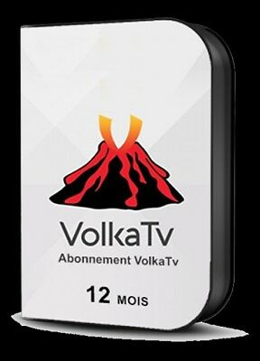ABONNEMENT 12 MOiS iPTV🏅VOLKA▪PRO2▪MAG▪iOS▪ANDROiD▪VLC▪iCONE▪