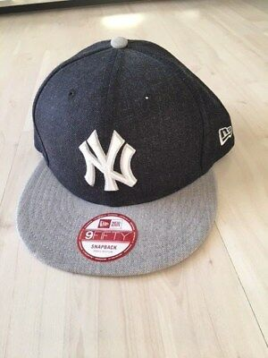 New Era Basic 9fifty York Yankees Snapback grau, Größe small-medium