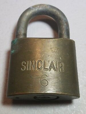 Vintage Sinclair Gas Station Padlock