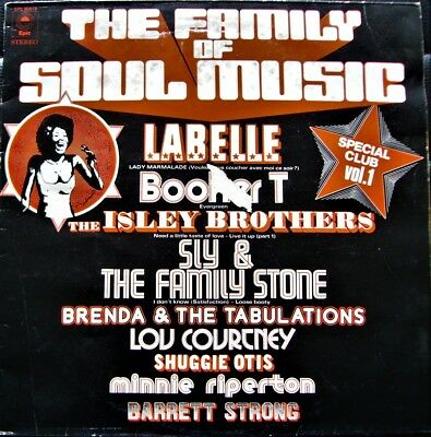 VARIOUS ARTISTS - The Family Of Soul Music ; Special Club Vol.1 ; LP