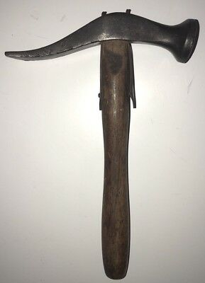 Vintage Large French Pattern strapped  Cobblers  Hammer - NICE!