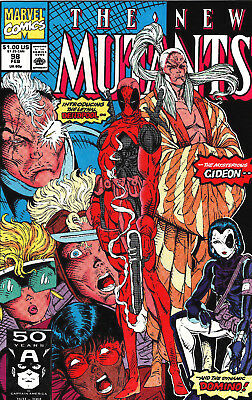 NM #98 -(HIGH GRADE)- 1st App Deadpool/Domino!! -Early Cable!!
