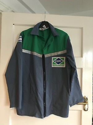 VINTAGE CORY ENVIRONMENTAL SERVICES/UTILITIES UNIFORM JACKET Goddard Safewear