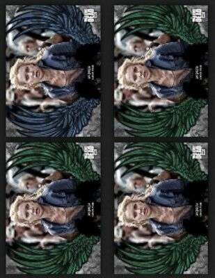 Andrea-Guardian Angels-Blue+3 Green-Wave 2-Topps Walking Dead Card Trader