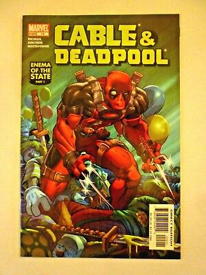 Cable & Deadpool 15 Marvel Comics 2005 Enema Of The State