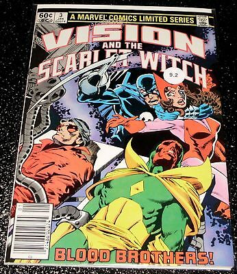 Vision and the Scarlet Witch 3 (9.2) - Marvel Comics