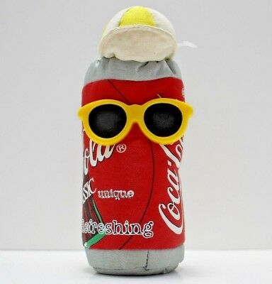 Coke Coca Cola Brand Bean Bag Plush Soda Can 1997 Without Original Tags
