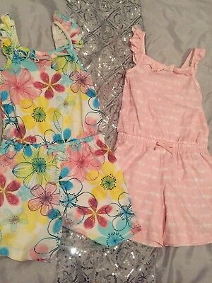 girls playsuits age 5-6