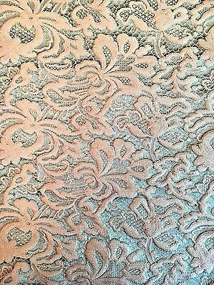 Vintage Antique 19th Century French Silk
