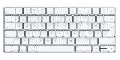 Apple Magic Keyboard 2 DE deutsch German (MLA22D/A) BULK ohne Kabel NEU OVP