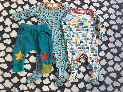 Little Green Radicals Jelly Bean Joggers - 3-6 Months - & Baby Boys Sleepsuits