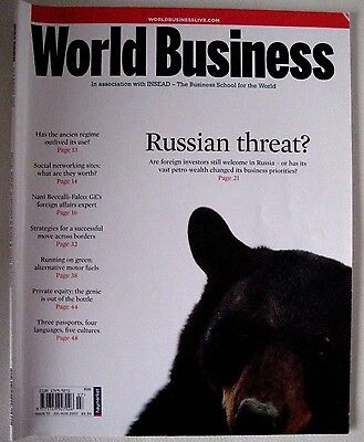 Rare Insead World Business Magazine #13 2007 - Russia, Social Networking, Ge
