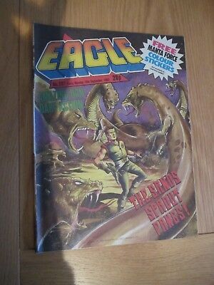 Eagle Comic 287-19/09/1987 With Manta Force Gift Stickers included!