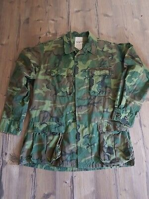 US Vietnam ERDL/ RDF  Jacke, Green Dominant, Gr.M-long, Original, Absolut...