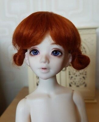 Dollmore BJD Wig 6-7 Ginger Mohair MSD Ball Jointed Doll Slim Mini Super Dollfie