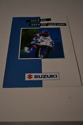 SUZUKI GSXR  - catalogue Brochure - 1997