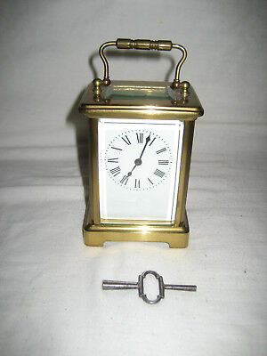 Antique French Carriage Clock by Richard & Cie, (R & C) 19th C. Good Working Ord