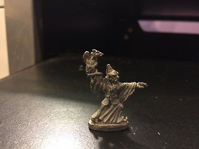 Pewter Wizard Vulture? in Hand 1 1/2""