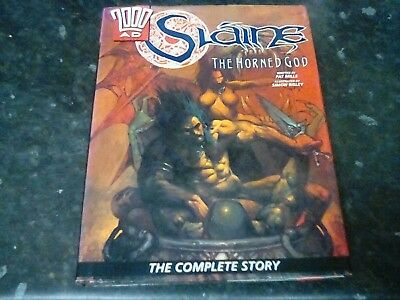 slaine the horned god- the complete story-1hb  printing mills/Simon Beasley