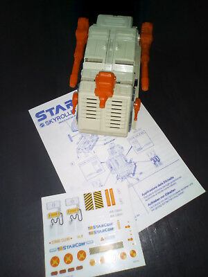 Starcom Skyroller Working Complete Instructions Stickers