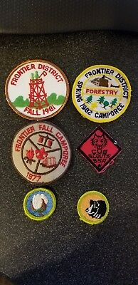 Boy Scout / Cub Scout patches mixed lot of 6