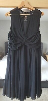 ASOS black kneelength maternity dress 16 Cocktail/formal/special event Worn once