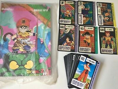 Dragon Ball Carddass Spain Full Collection & System File Binder