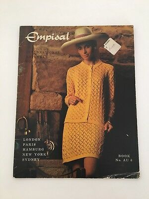 Empisal Knitting Pattern Book - AU6 Women's dresses and suits