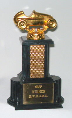 Vtg 1959 Midget Race Car Racing Trophy - N.w.m.a.r.a. - From Lindquist Jewelery