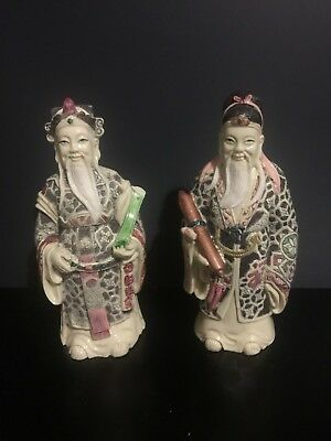 2 x  Chinese Statues / Figures /sculptures, pre owned in good condition.
