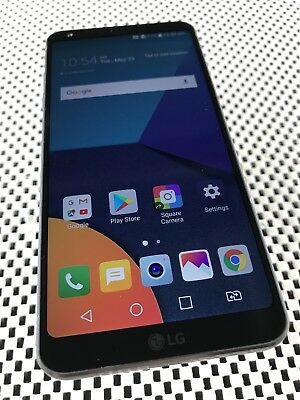 "LG G6 Black 32GB Dual Sim 5.7"" 13MP Working Minor Defect •Camera Error•"