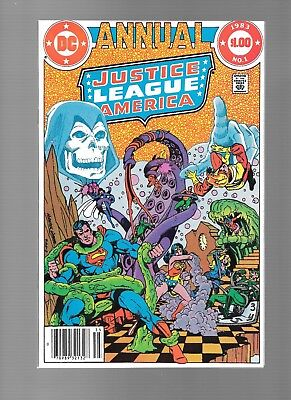Justice League of America Annual #1 (1983) Firestorm Wonder Woman APP NM- 9.2