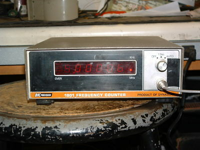 Dynascan B&K Precision 1801 6-Digit Autoranging Frequency Counter 20Hz to 40MHz