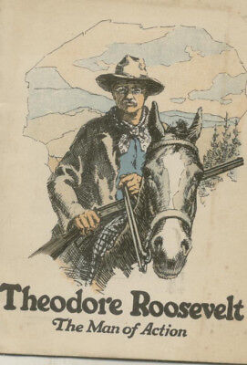 1928 Booklet-Theodore Roosevelt-John Hancock Insurance Co.