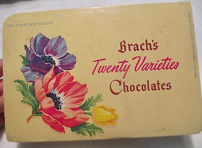 Vintage Brach's Chocolates Box