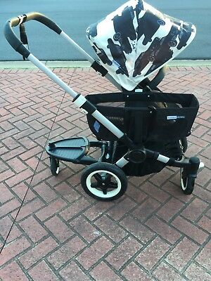 Bugaboo Donkey Andy Warhol Cars Tailored Canopy Only (No Pram) - Preloved