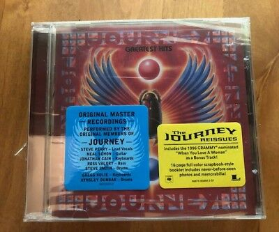Journey greatest hits cd new