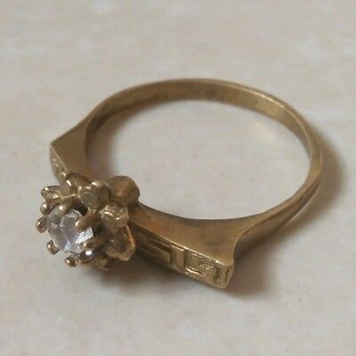 ancient antique roman ring bronze authentic with stone white
