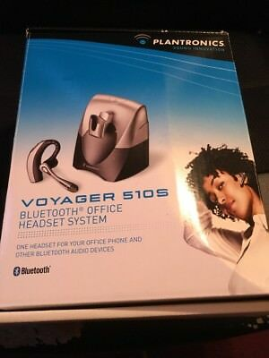 Plantronics Voyager 510S Black/Gray Ear-Hook Headsets