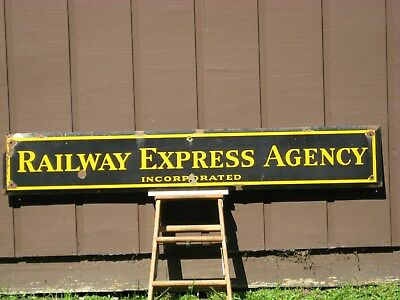 Railway Express Agency Incorporated Sign