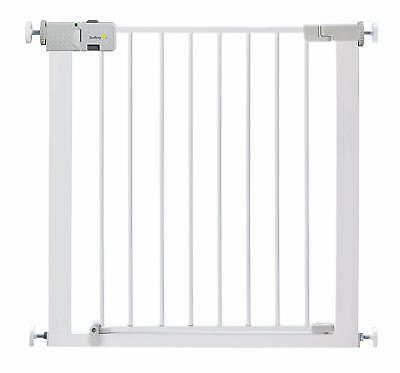 Safety 1St Simply Close Metal Gate Baby Child Pet Dog White Fence Door Stairs