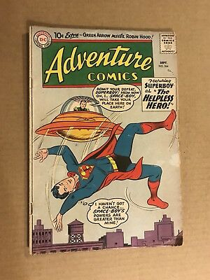 Adventure Comics #264 (Sep 1959, DC) Early Silver Age 10 cent cover Green Arrow