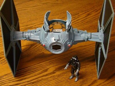 Star Wars Hasbro 2003 Tie Fighter With Pilot