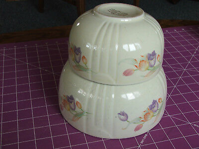 Hall China Tulip Nesting Bowls