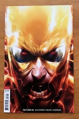 Flash 46 Cover B Variant Francesco Mattina Cover 1st Print DC 2018 NM