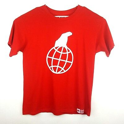 Coca Cola Polar Bear Mens Graphic T-Shirt Arctic Home Red Live Positively 2008