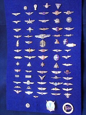 INSTANT COLLECTION decades of aviation association wings, club pins, makers.