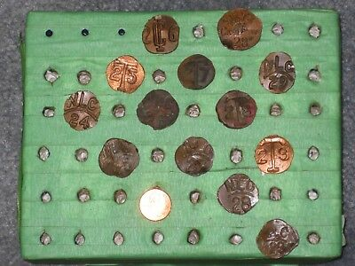 13 Different Preserving Company copper date nails
